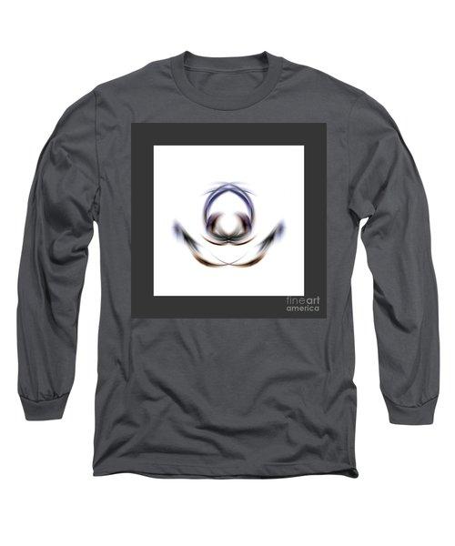 Long Sleeve T-Shirt featuring the digital art 165-2015 by John Krakora