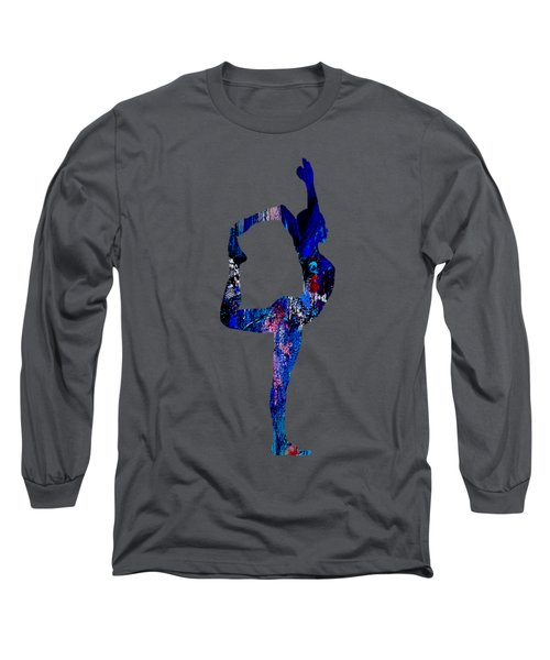 Yoga Collection Long Sleeve T-Shirt by Marvin Blaine