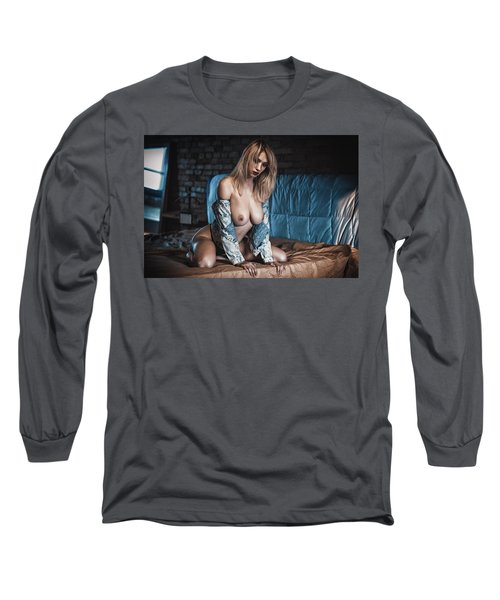 Long Sleeve T-Shirt featuring the photograph 1867 by Traven Milovich