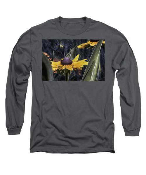 Thinking Of Vincent Van Gogh Long Sleeve T-Shirt