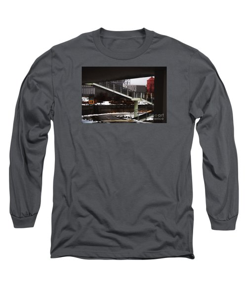 Long Sleeve T-Shirt featuring the digital art 1903 by David Blank