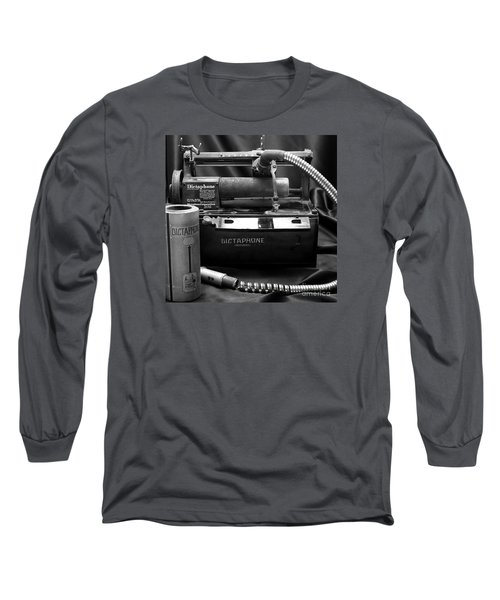 Long Sleeve T-Shirt featuring the photograph 1912 Dictaphone  by Ricky L Jones
