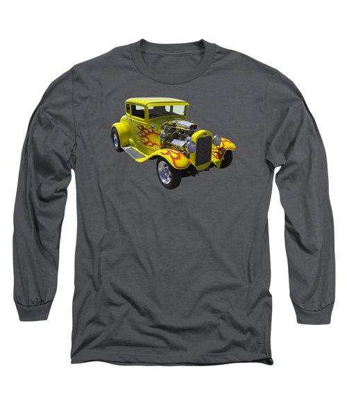 1930 Model A Custom Hot Rod Long Sleeve T-Shirt by Keith Webber Jr