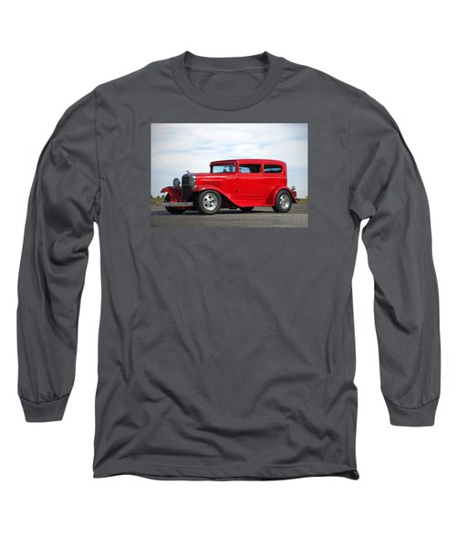 1930 Chevrolet Sedan Long Sleeve T-Shirt by Tim McCullough