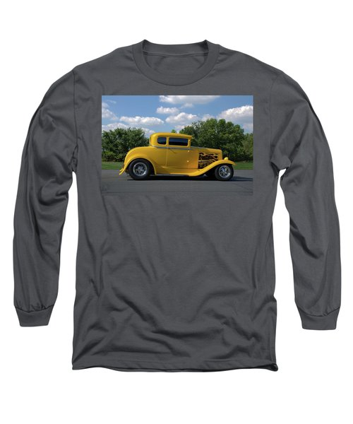 1931 Ford Coupe Hot Rod Long Sleeve T-Shirt