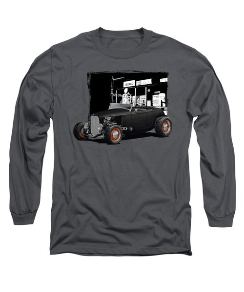 1932 Ford At Gas Station Long Sleeve T-Shirt
