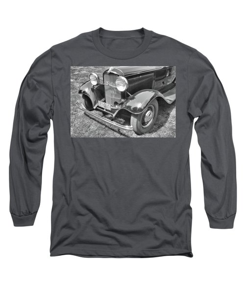1932 Ford Coupe Bw Long Sleeve T-Shirt