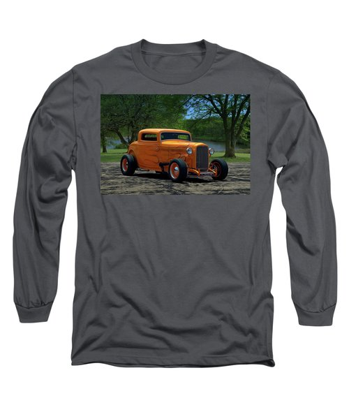 1932 Ford Coupe Hot Rod Long Sleeve T-Shirt