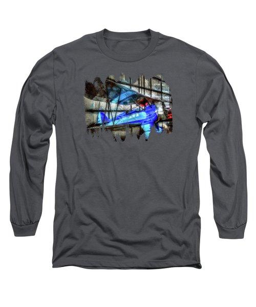 1932 Waco Biplane Long Sleeve T-Shirt