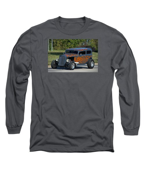 1933 Ford Sedan Hot Rod Long Sleeve T-Shirt