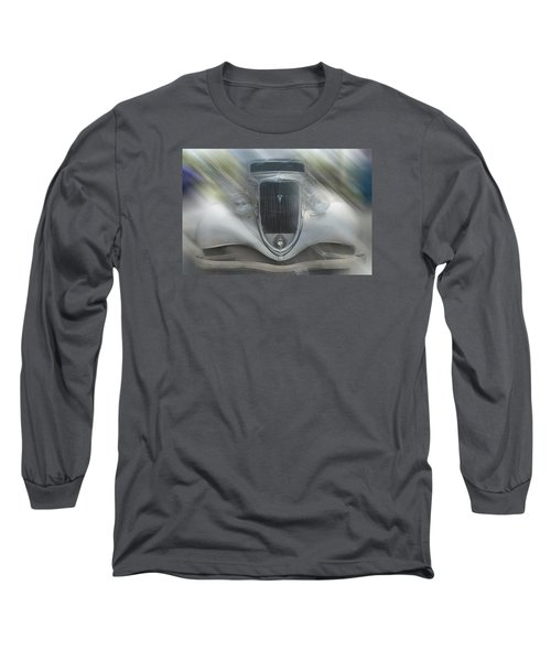1934 Ford Coupe Long Sleeve T-Shirt by Louis Ferreira