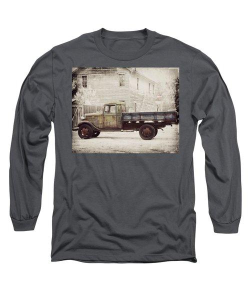 1936 Chevy High Cab -2 Long Sleeve T-Shirt