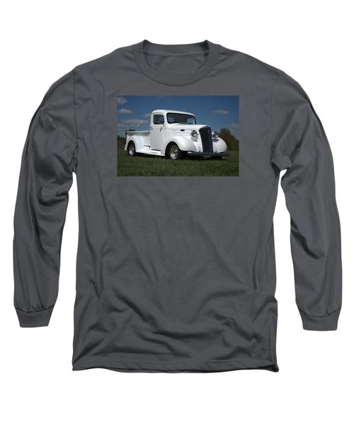 Long Sleeve T-Shirt featuring the photograph 1937 Chevrolet Pickup Truck by Tim McCullough