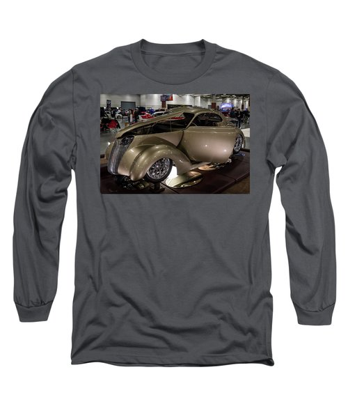 Long Sleeve T-Shirt featuring the photograph 1937 Ford Coupe by Randy Scherkenbach