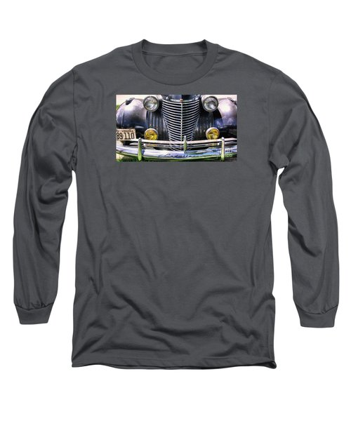1940s Caddie Full Frontal Oh La La Long Sleeve T-Shirt