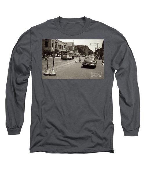 1940's Inwood Trolley Long Sleeve T-Shirt