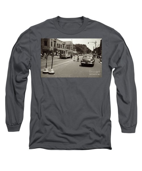 1940's Inwood Trolley Long Sleeve T-Shirt
