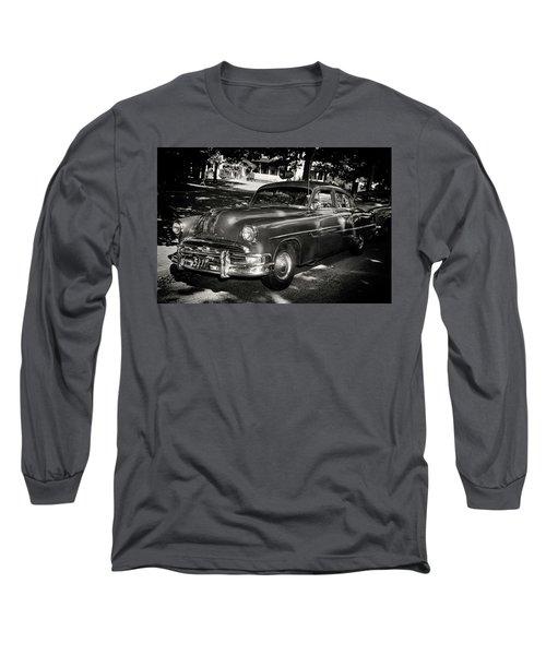 1940s Police Car Long Sleeve T-Shirt