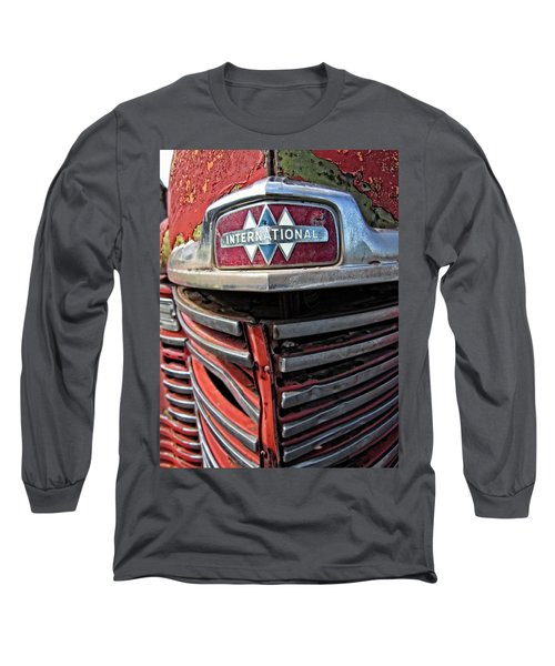 1946 International Harvester Truck Grill Long Sleeve T-Shirt