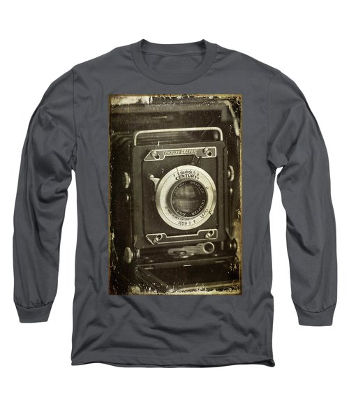 1949 Century Graphic Vintage Camera Long Sleeve T-Shirt