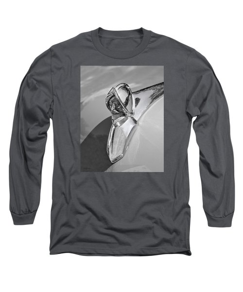 Long Sleeve T-Shirt featuring the photograph 1949 Desoto Hood Ornament by Betty Denise