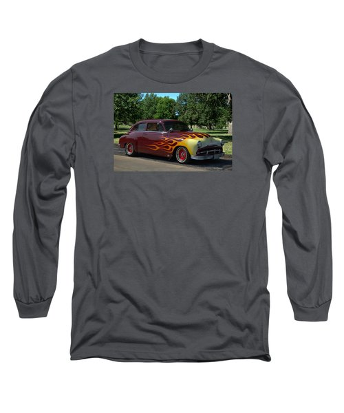 1952 Plymouth Concord Custom Long Sleeve T-Shirt by Tim McCullough