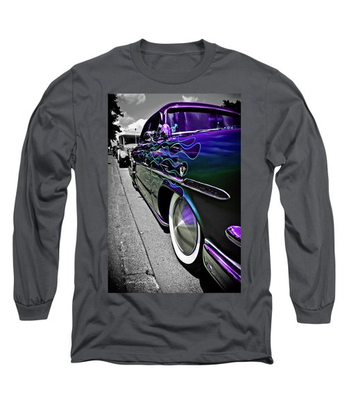 1953 Ford Customline Long Sleeve T-Shirt by Joann Copeland-Paul