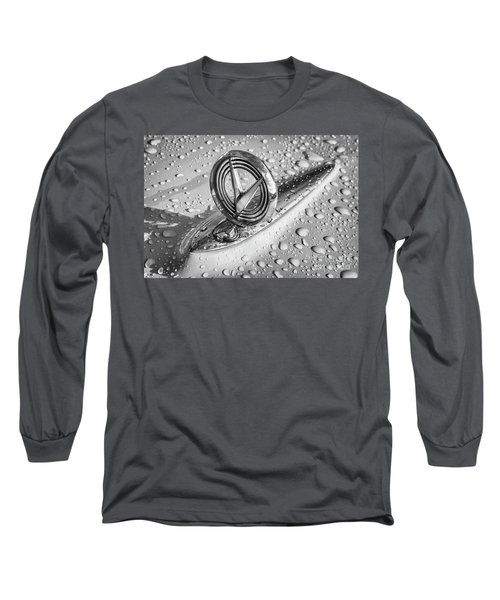 Long Sleeve T-Shirt featuring the photograph 1955 Buick Hood Ornament 2 by Dennis Hedberg