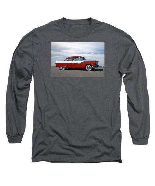 1955 Ford Victoria Long Sleeve T-Shirt by Tim McCullough