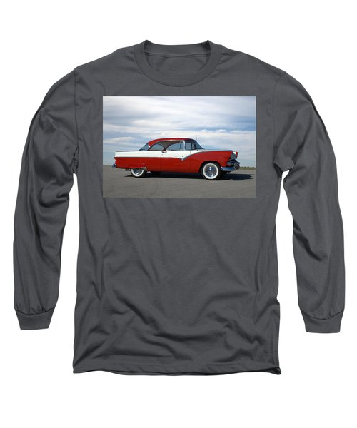 1955 Ford Victoria Long Sleeve T-Shirt
