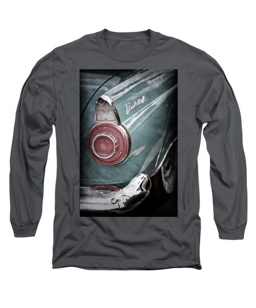 Long Sleeve T-Shirt featuring the photograph 1956 Ford Thunderbird Taillight Emblem -0382ac by Jill Reger