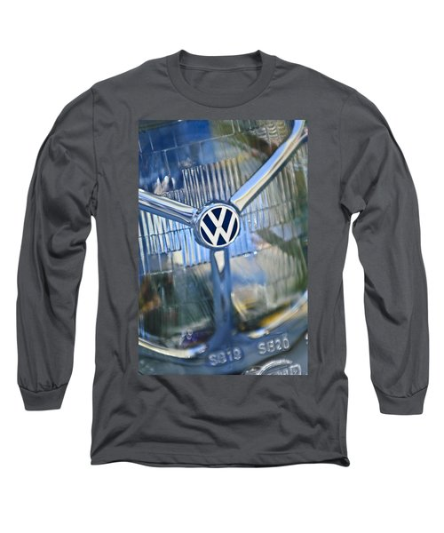 1956 Volkswagen Vw Bug Head Light Long Sleeve T-Shirt