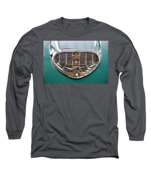 Long Sleeve T-Shirt featuring the digital art 1958 Ford Fairlane Sunliner Intake by Chris Flees