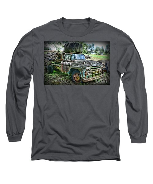 Long Sleeve T-Shirt featuring the photograph 1959 Chevrolet Viking 60 by Paul Ward
