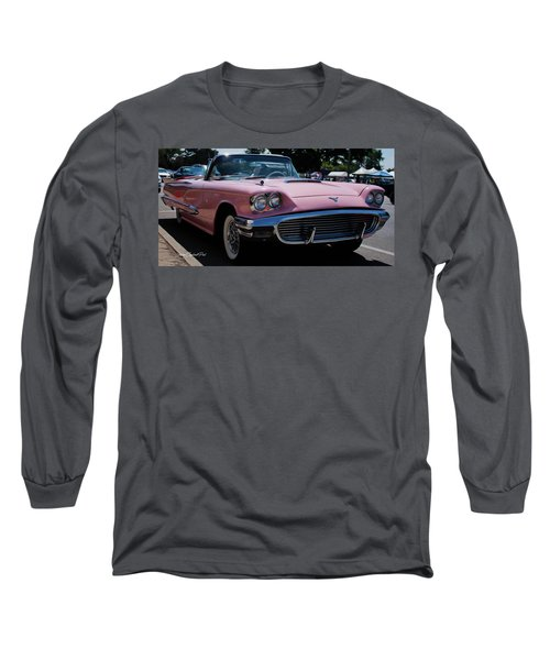 1959 Ford Thunderbird Convertible Long Sleeve T-Shirt by Joann Copeland-Paul