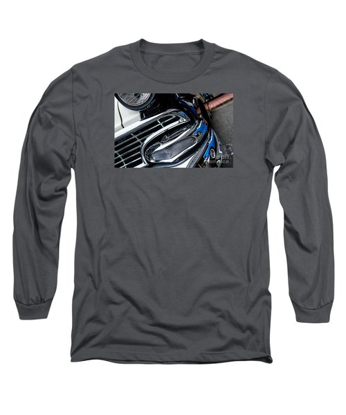Long Sleeve T-Shirt featuring the photograph 1958 Ford Crown Victoria Reflection 2 by M G Whittingham