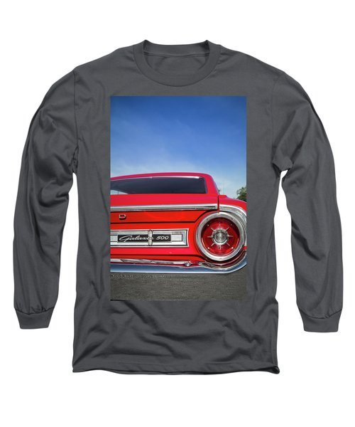 1964 Ford Galaxie 500 Taillight And Emblem Long Sleeve T-Shirt
