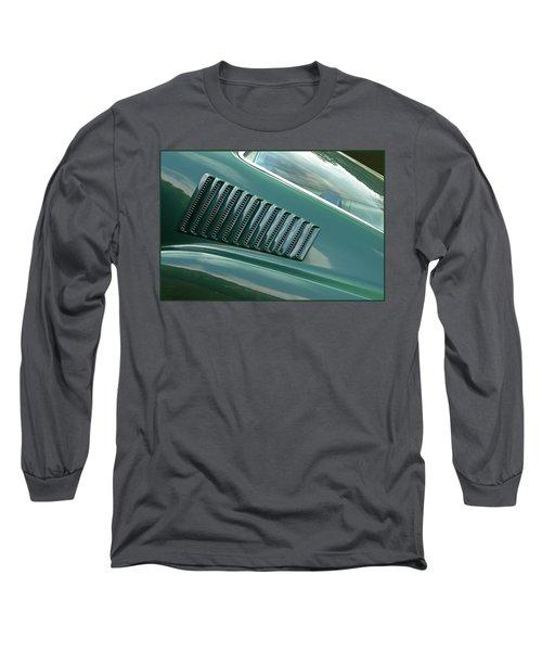 1967 Mustang Fastback Vent Long Sleeve T-Shirt