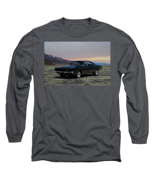 1968 Dodge Charger Rt 440 Long Sleeve T-Shirt