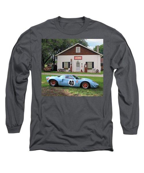 1968 Gulf Mirage In Missouri Long Sleeve T-Shirt