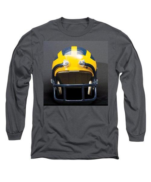 1970s Wolverine Helmet Long Sleeve T-Shirt