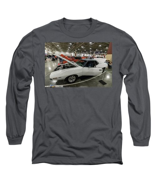 Long Sleeve T-Shirt featuring the photograph 1972 Javelin Sst by Randy Scherkenbach