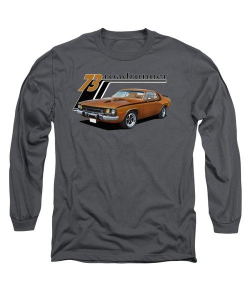 1973 Roadrunner Long Sleeve T-Shirt by Paul Kuras