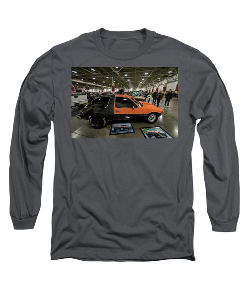Long Sleeve T-Shirt featuring the photograph 1975 Amc Pacer by Randy Scherkenbach