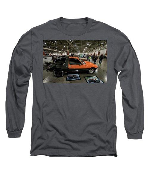 1975 Amc Pacer Long Sleeve T-Shirt by Randy Scherkenbach