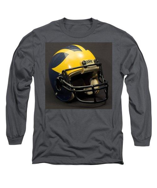1980s Wolverine Helmet Long Sleeve T-Shirt
