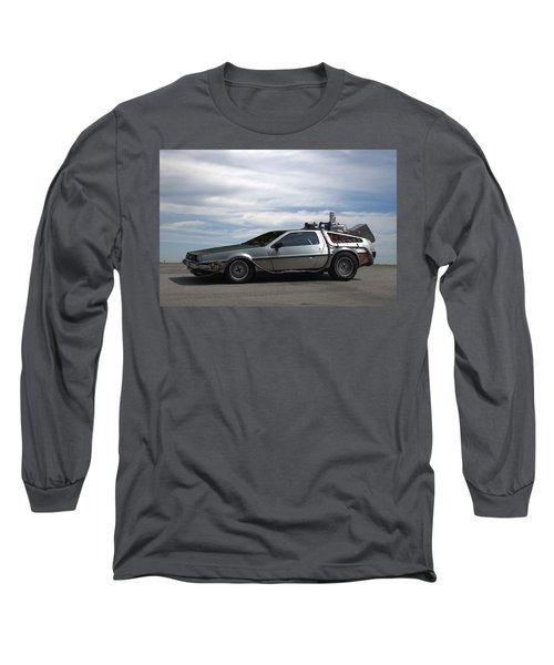 1981 Delorean Dmc12 Long Sleeve T-Shirt