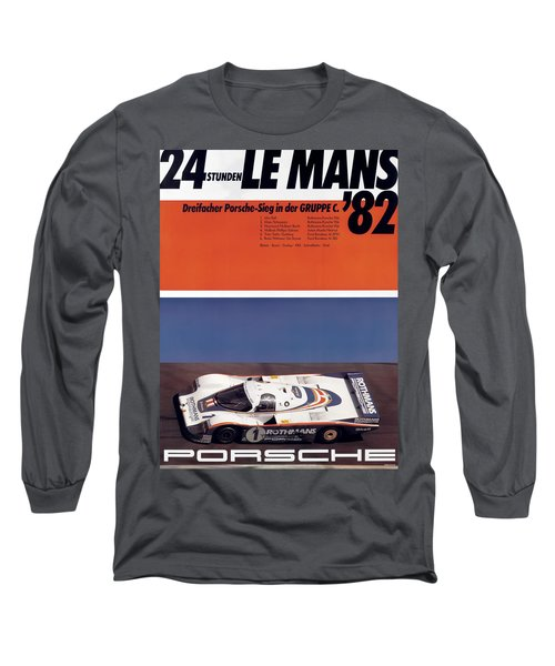 1982 24hr Le Mans Long Sleeve T-Shirt