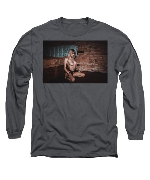 Long Sleeve T-Shirt featuring the photograph 1988 by Traven Milovich