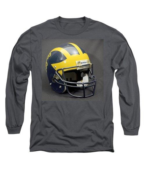 1990s Wolverine Helmet Long Sleeve T-Shirt